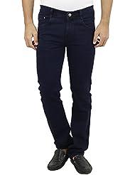 Mens Slim Fit Blue Denim Jeans For Men, Comfortable Denim Jeans For Men, Ligh...