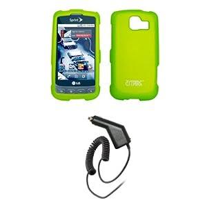 Amazon.com: EMPIRE Neon Green Rubberized Snap-On Cover
