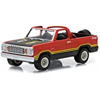 "1978 Dodge Ramcharger Pickup Truck Custom Orange ""All Terrain"" Series 1 1/64 By Greenlight 35010 C"