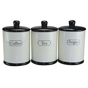 ceramic storage jars for kitchen jar ceramic kitchen storage jars set of three 8096