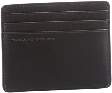 Porsche Design Card Holder Sh Id Card Wallet Mens Black Schwarz Black Xx Cm