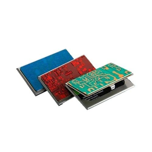 Circuit board recycled card case