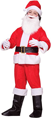Forum Novelties Deluxe Lil Santa Boy Child Costume