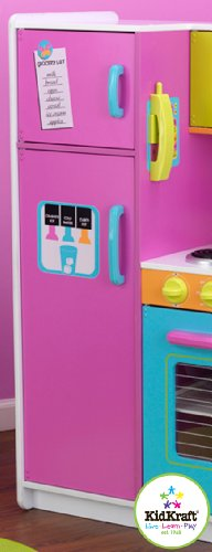 Details about KidKraft Deluxe Big N Bright Kitchen Toy Set Food Kids  Pretend Play Kid Toys New