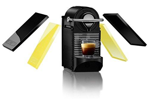 Krups Nespresso - Cafetera de cápsulas, 1260 W, color amarillo