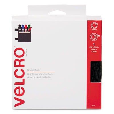 Velcro 90081 Sticky-Back Hook & Loop Fastener Tape with Disp