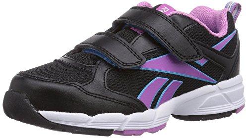Reebok Almotio 2.0 - zapatillas de running de cuero niño, color negro, talla 29