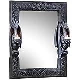 Design Toscano Dragons Thorne Twin Sentinal Dragons Mirror By Design Toscano