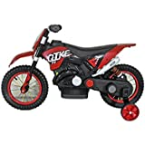 Babysid Collections Kids Battery Operated Ride On Bike - Red
