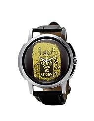 PosterGuy (TGIF) Graphic Design Men's Wrist Watches