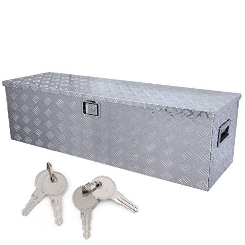 ARKSEN© 49″ Aluminum Toolboxes Underbody Trailer Truck, 49″ x 15″ x 15″