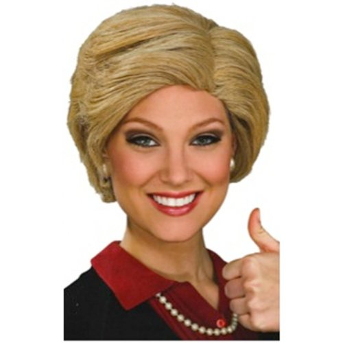 Trump and Clinton Halloween Costumes - Choose Edgy or Funny - Hillary Clinton Wig Costume Accessory