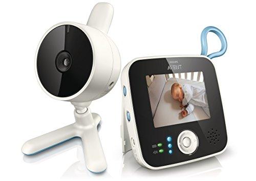 Philips Avent SCD610/00 - Vigilabebés con cámara con zoom, conexión...