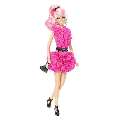 x mattel  barbie	fashionista doll