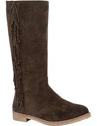 Lucky Women S Grayer Boot Dark Moss Suede Leather 6.5 B(M) US