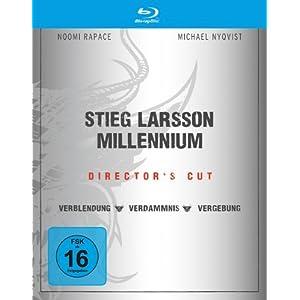 Stieg Larsson - Millennium Box (Directors Cut) [Blu-ray]