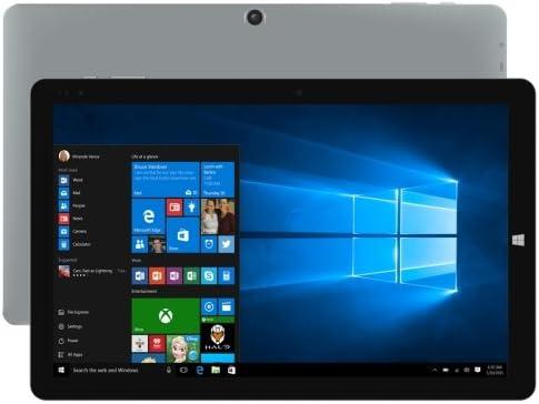 CHUWI HiBook Proデュアル OS タブレット 64GB - 10.1 inch スクリーン , Windows 10&Android 5.1 , Intel Cherry Trail-X5 Z8300 Quad Core up to 1.84GHz , RAM: 4GB ROM: 64GB , グレー [並行輸入品]