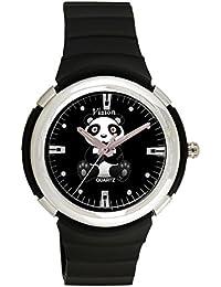 Vizion Analog Black Dial (PO-The Kung Fu Panda) Cartoon Character Watch For Kids-8828-1-1