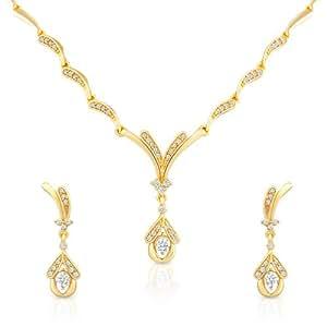 Amazon.com: Oviya Women's Night Beauty Necklace Set: Jewelry