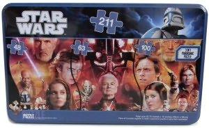 Star Wars Panorama Puzzle Tin