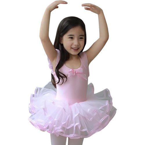 Little Girls' Short Sleeve Tutu Ballet