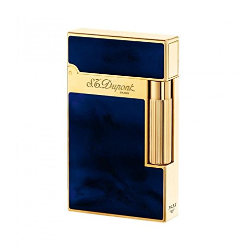 S.T. Dupont Ligne 2 Lighter - Dark Blue Chinese Lacquer