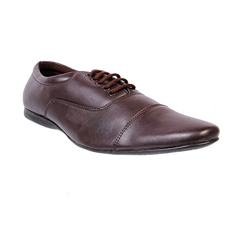 Nonch Le Brown Lace Up Formal Shoes