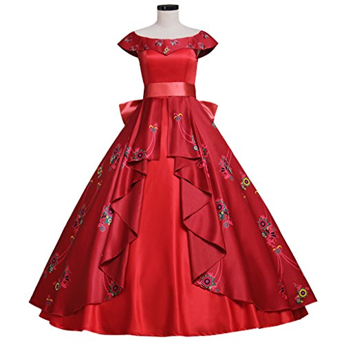 Halloween 2017 Disney Costumes Plus Size & Standard Women's Costume Characters - Women's Costume CharactersAdult Elena of Avalor Princess Costume Dress - Standard and Plus Sizes - XS - 3XL or Custom Made to Fit