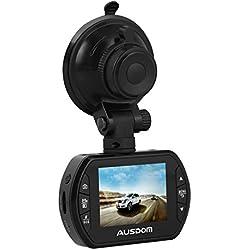 AUSDOM AD170 - Caja negra para coche, (DVR, Full HD, TFT LCD), color negro (importado)