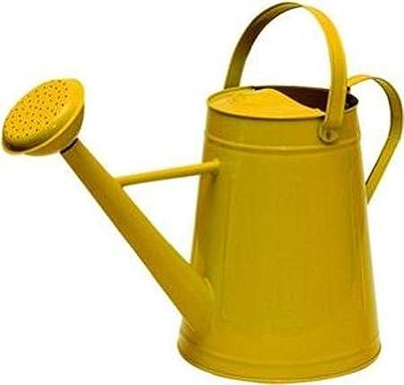 Tierra Garden 36-5081Y Traditional Watering Can, 2.1-Gallon, Yellow