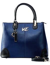 ViE VK012B Women's Shoulder Bag (Blue)