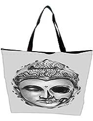 Snoogg Buddha The Creator Waterproof Bag Made Of High Strength Nylon