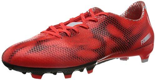 Adidas F10 Fg - Zapatillas de deporte para hombre, Red, 42 2/3
