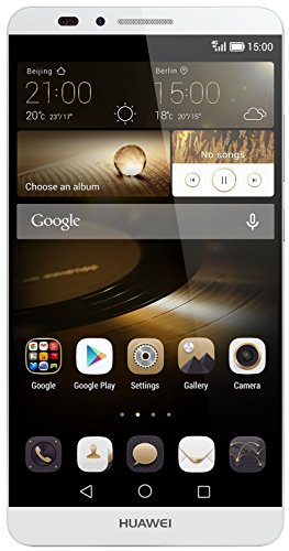 Huawei Ascend Mate 7 Smartphone, Display IPS 6 pollici, Processore 1,8 GHz Octa-Core, Fotocamera 13 MP, Android 4.4 KitKat, Argento