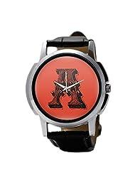 PosterGuy Alphabet A Typography Men's Wrist Watches