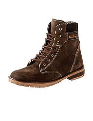 Bacca Bucci Men 970 Brown Suede Boots
