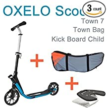 PACK Scooter EasyFolding In 1 OXELO + Town Bag + Kick Board Child