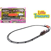 Little Treasures High Quality Model Steam Locomotive Train Set For Boys And Girls Great Gift For Your Little Conductor