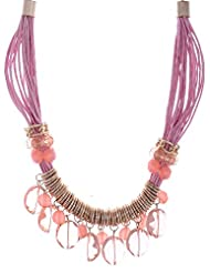 Amaira Jewels Gold Plated Multi-Strand Necklace For Women - B0133G9ZYO
