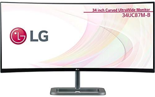 LG Electronics Japan 34型 曲面Ultra Wide AH-IPS液晶モニター(非光沢/3440×1440/ブラック) 34UC87M-B