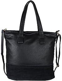 Pink Rose - Elegant Collection Black Charm Tote Bag
