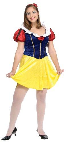 Plus Size Fairy Tale Maiden Costume