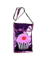 Super Drool Purple Little Cupcake Sling Bag