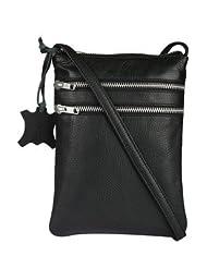 White Lily Women's Sling Bag Black (WL-LI-0001-019)
