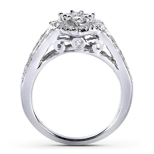 cathedral halo engagement ring under $3000