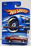 Hot Wheels *69 Pontiac Gto (Red) #018 Kmart Exclusive