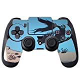 The Little Mermaid In The Sea Silhouette Design Print Image PS4 DualShock4 Controller Vinyl Decal Sticker Skin by Trendy Accessories
