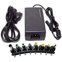 96W Multi-Function Universal Notebook Laptop AC DC Power Adapter Charger 12V, 15V, 16V, 18V, 19V, 20V, 24V Output -