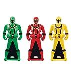 Power Rangers Super Megaforce - Mystic Force Legendary Ranger Key Pack, Red/Green/Yellow