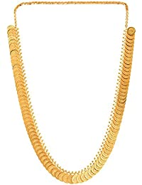 Zeneme Gold-Plated Choker Necklace Set For Women